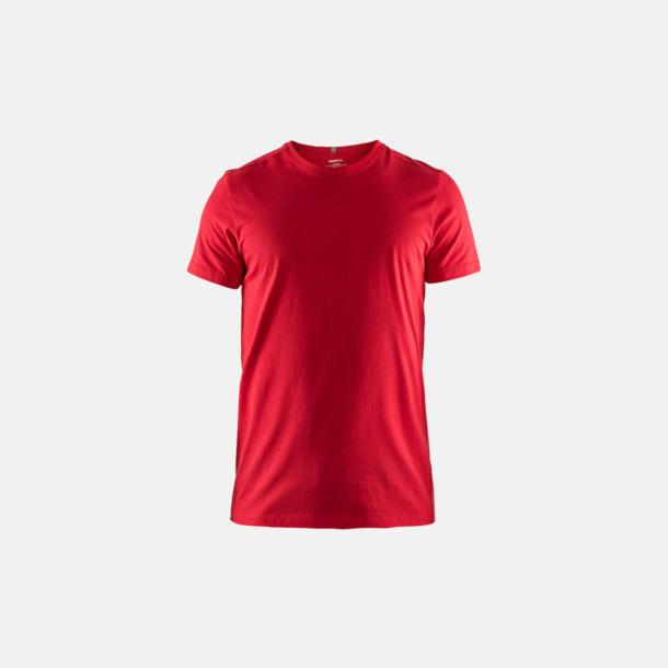 Bright Red (herr) Funktionell t-shirt från Craft med eget reklamtryck