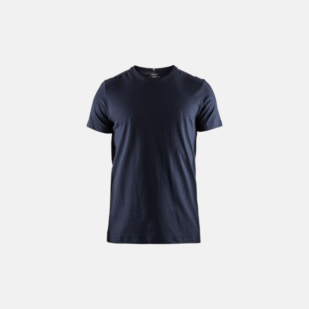 Dark Navy (herr) Funktionell t-shirt från Craft med eget reklamtryck