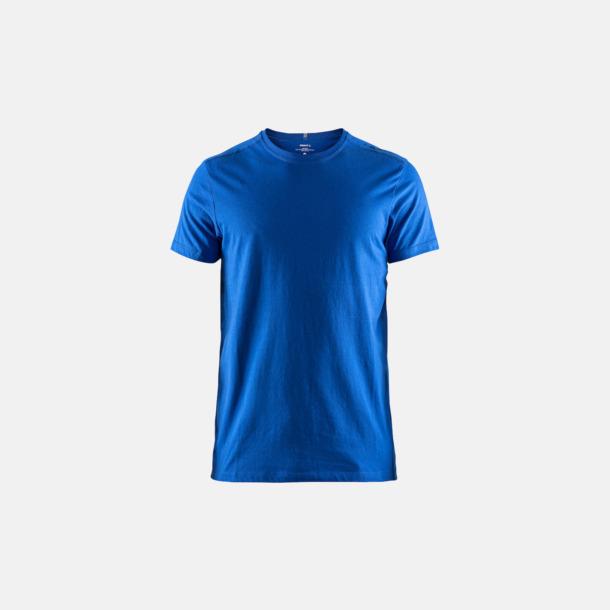 Sweden Blue (herr) Funktionell t-shirt från Craft med eget reklamtryck