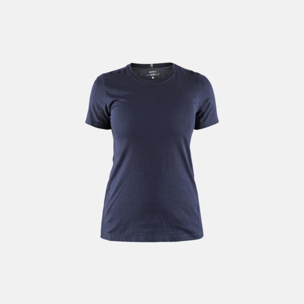 Dark Navy (dam) Funktionell t-shirt från Craft med eget reklamtryck