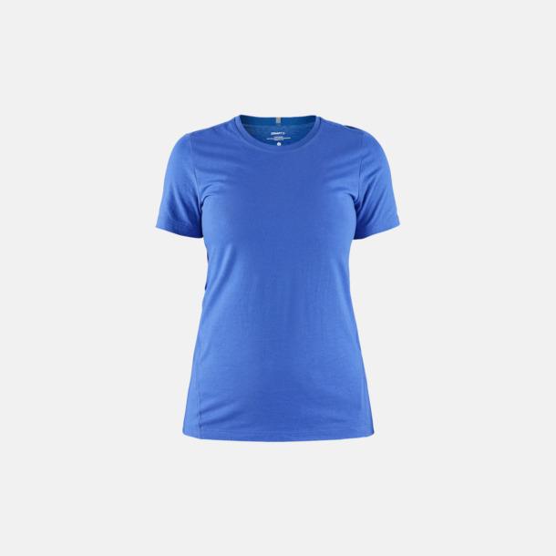 Sweden Blue (dam) Funktionell t-shirt från Craft med eget reklamtryck