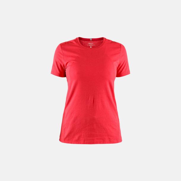Bright Red (dam) Funktionell t-shirt från Craft med eget reklamtryck