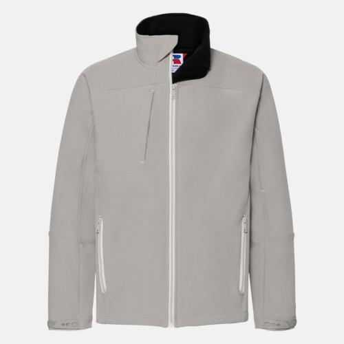 Stone (herr) Softshell-jackor med eko finish med reklamtryck
