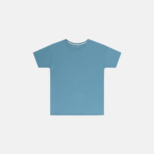 Sky (barn) Labelfria t-shirts med reklamtryck