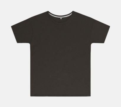 Charcoal (barn) Labelfria t-shirts med reklamtryck
