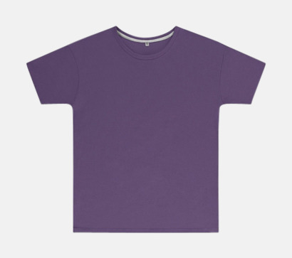 Aster Purple (barn) Labelfria t-shirts med reklamtryck