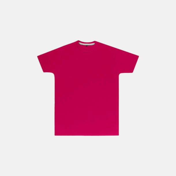 Mökrosa (herr) Labelfria t-shirts med reklamtryck