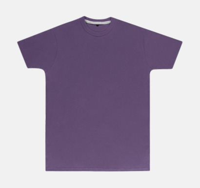 Aster Purple (herr) Labelfria t-shirts med reklamtryck