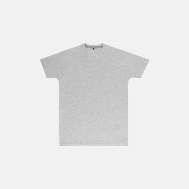 Ash Grey (herr) Labelfria t-shirts med reklamtryck