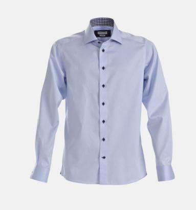 Sky Blue (herr) Exklusiva skjortor i klassisk design med reklamtryck