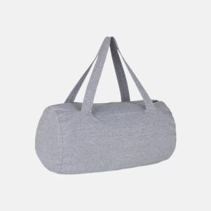 Runda, mjuka väskor med reklamtryck
