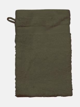 Chocolate (Handske) Tjocka handdukar med egen logga
