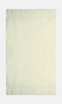 Ecru Tjocka handdukar med egen logga