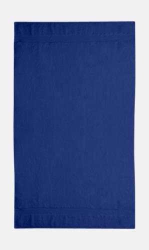 Navy  Tjocka handdukar med egen logga