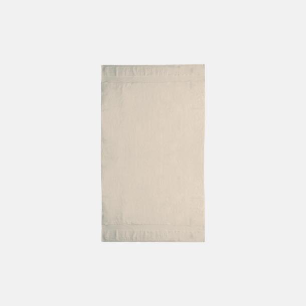 Sand Tjocka handdukar med egen logga