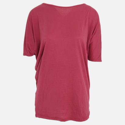 Wild Berry Eko oversize dam t-shirts med reklamtryck
