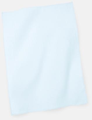 Pastel Blue Billiga kökshanddukar med reklambrodyr