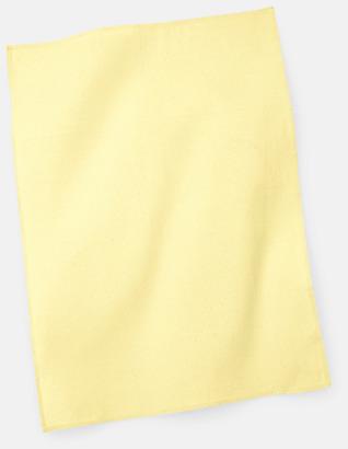 Pastel Lemon Billiga kökshanddukar med reklambrodyr