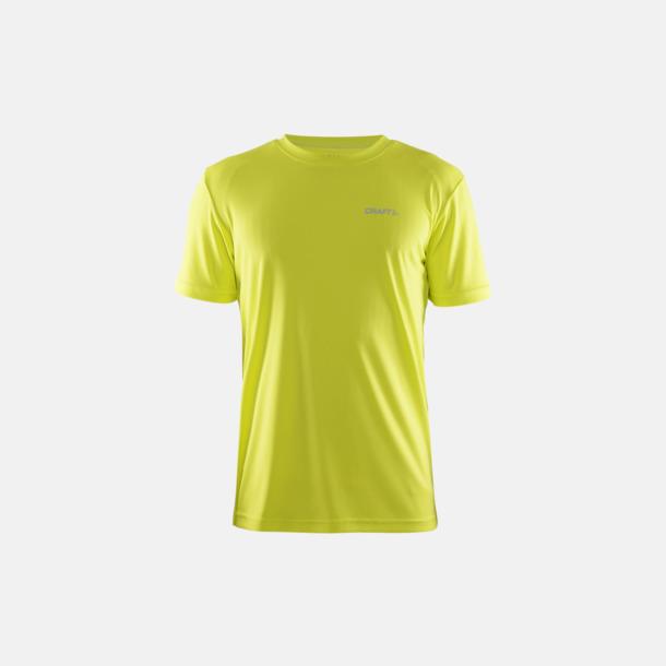 Race (herr) Funktion t-shirts från Craft med reklamtryck