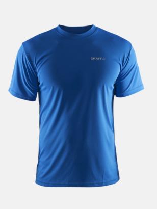Sweden blue (herr) Funktion t-shirts från Craft med reklamtryck