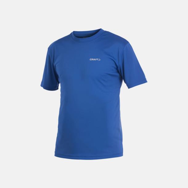 Royal (herr) Funktion t-shirts från Craft med reklamtryck