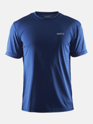 Deep (herr) Funktion t-shirts från Craft med reklamtryck