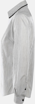 Skjortor med diskreta kontrastfärger med reklamtryck