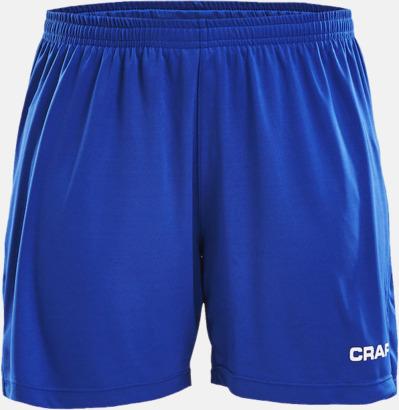 Royal Blue (dam) Matchshorts från Craft med eget reklamtryck