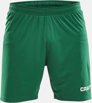 Team Green (herr) Matchshorts från Craft med eget reklamtryck