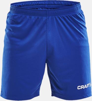 Royal Blue (herr) Matchshorts från Craft med eget reklamtryck