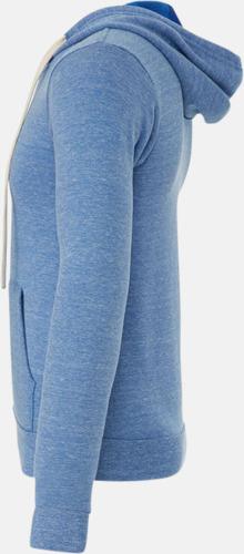 Triblend huvtröjor med reklamtryck