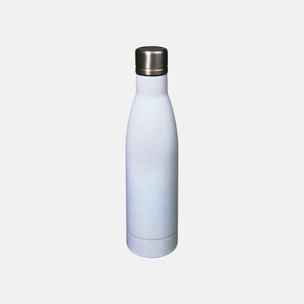 Vit Sutairu flaskan i exklusiv finish med reklamtryck