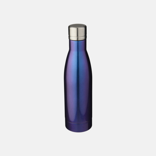 Blå Sutairu flaskan i exklusiv finish med reklamtryck