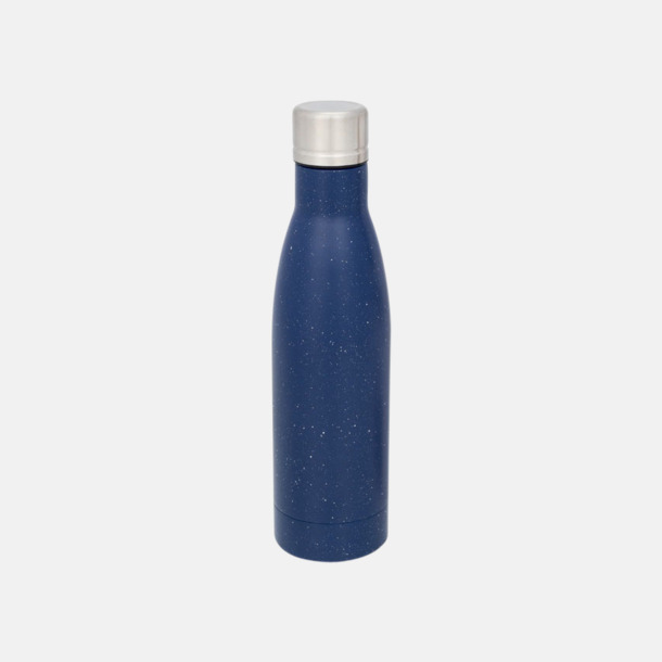 Blå (speckled) Sutairu flaskan i annorlunda designer med reklamtryck