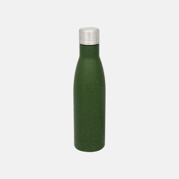 Grön (speckled) Sutairu flaskan i annorlunda designer med reklamtryck