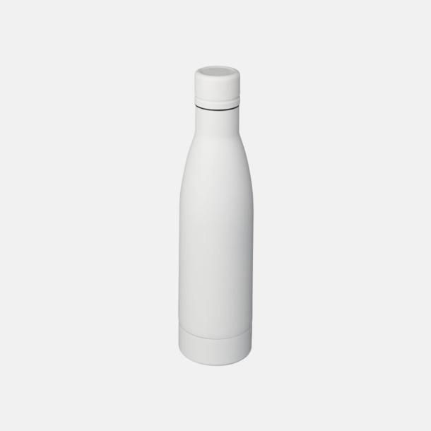 Vit Vackra termosflaskor med reklamtryck