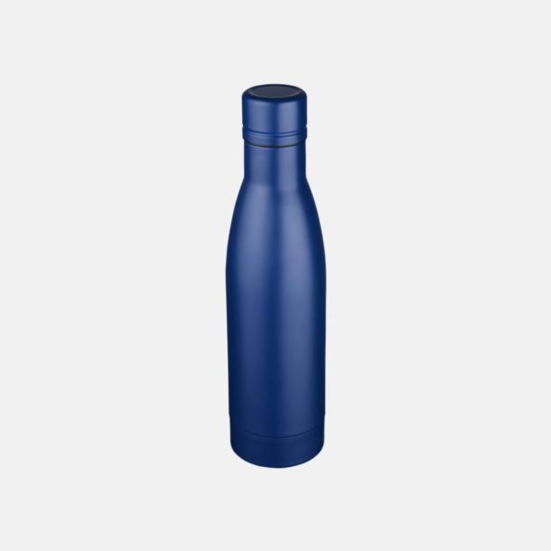 Blå Vackra termosflaskor med reklamtryck