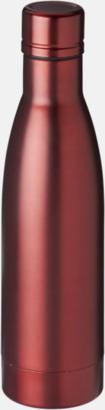 Röd Vackra termosflaskor med reklamtryck