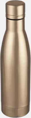 Rose Gold Vackra termosflaskor med reklamtryck