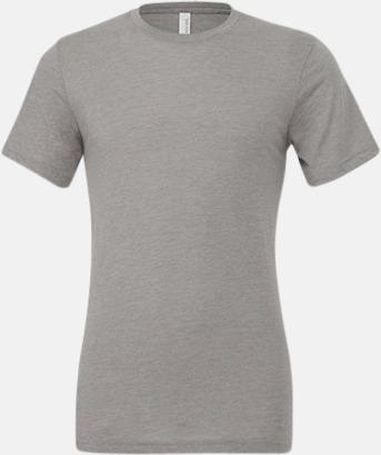 Athletic Grey Triblend heather (unisex) T-shirts för vuxna & barn - med reklamtryck