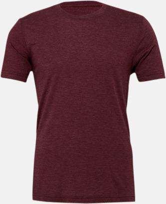Cardinal Triblend heather (unisex) T-shirts för vuxna & barn - med reklamtryck