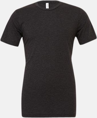Charcoal-Black Triblend heather (unisex) T-shirts för vuxna & barn - med reklamtryck