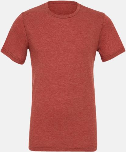 Clay Triblend heather (unisex) T-shirts för vuxna & barn - med reklamtryck