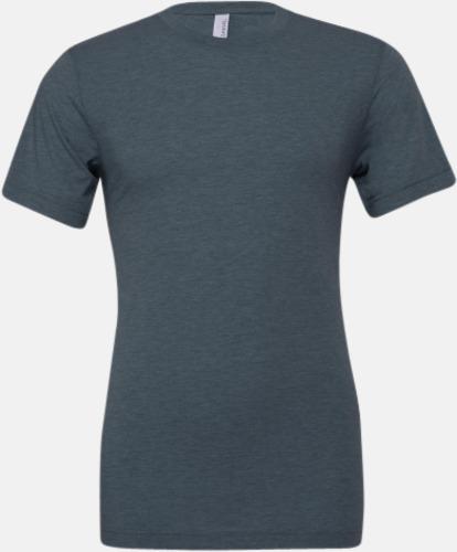 Denim Triblend heather (unisex) T-shirts för vuxna & barn - med reklamtryck