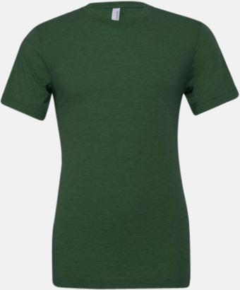 Grass Green Triblend heather (unisex) T-shirts för vuxna & barn - med reklamtryck