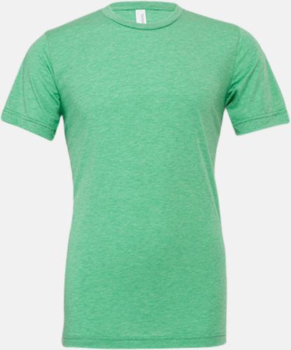Green Triblend heather (unisex) T-shirts för vuxna & barn - med reklamtryck