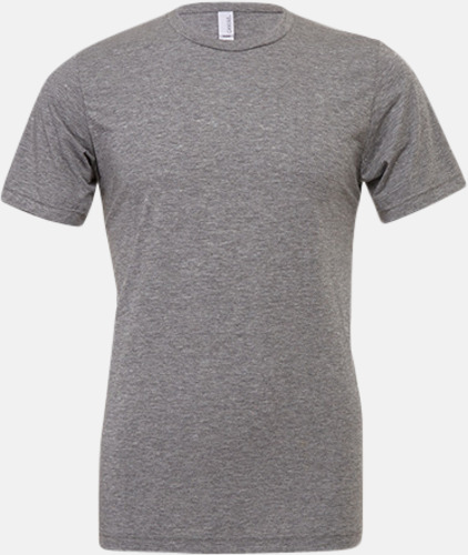 Grey Triblend heather (unisex) T-shirts för vuxna & barn - med reklamtryck