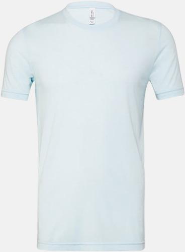Ice Blue Triblend heather (unisex) T-shirts för vuxna & barn - med reklamtryck