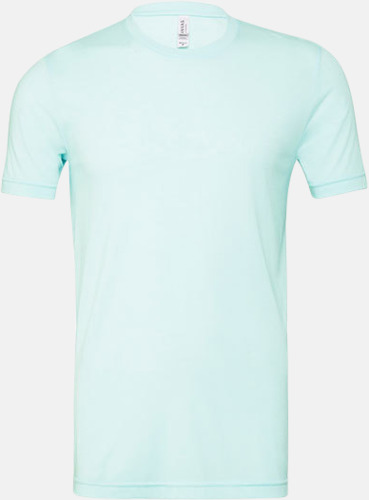 Mint Triblend heather (unisex) T-shirts för vuxna & barn - med reklamtryck