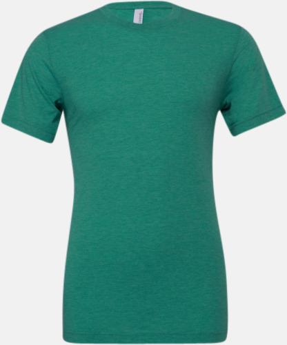 Sea Green Triblend heather (unisex) T-shirts för vuxna & barn - med reklamtryck